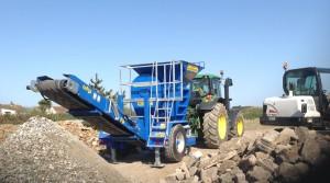 Agri Crusher Working