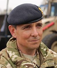 Lieutenant Col. Nick Mifsud, Commanding Officer, 71 Engineer Regiment