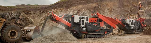 Sandvik expects the QH331 to be a big success with customers in Scotland.