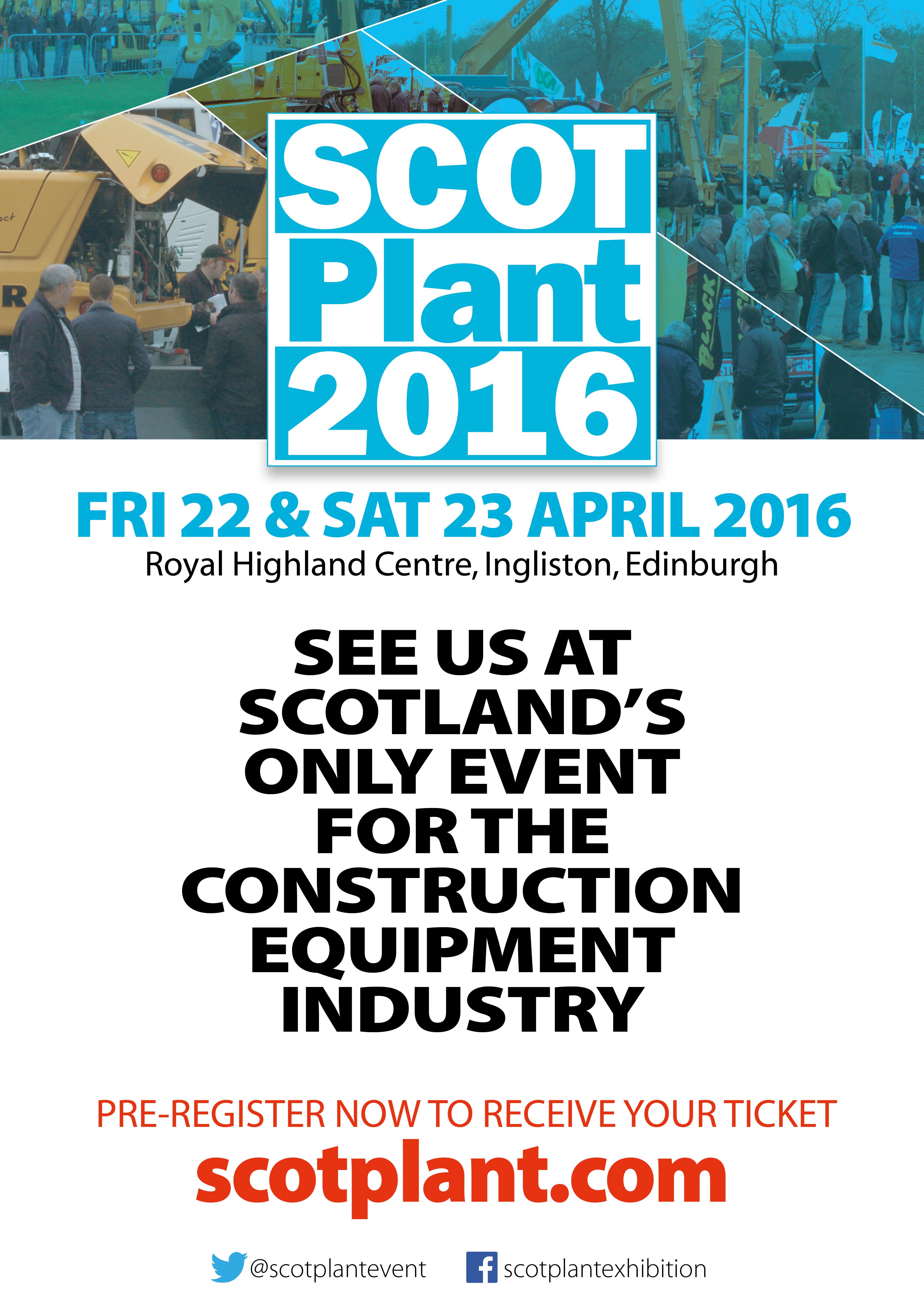 See us at ScotPlant 2016