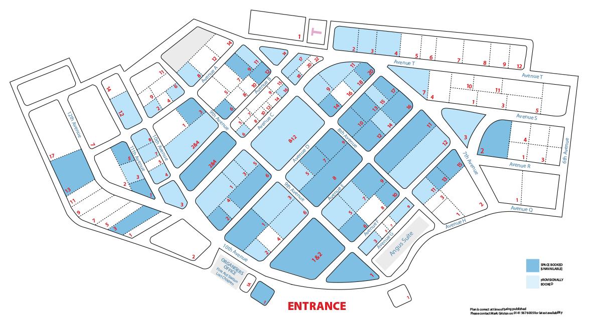 Outdoor sitemap